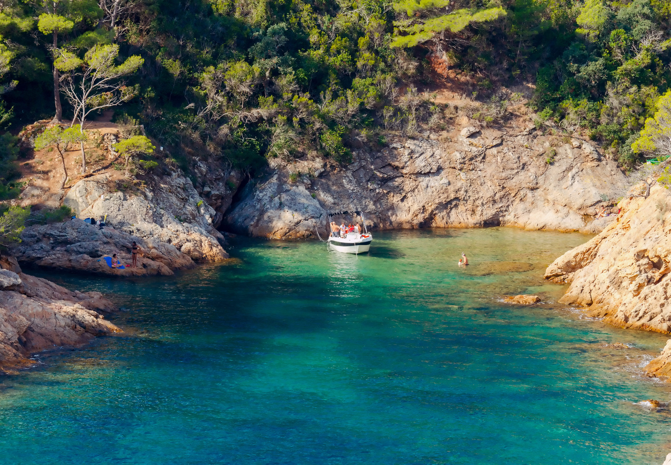 One of the wonders of the Costa Brava, its coves